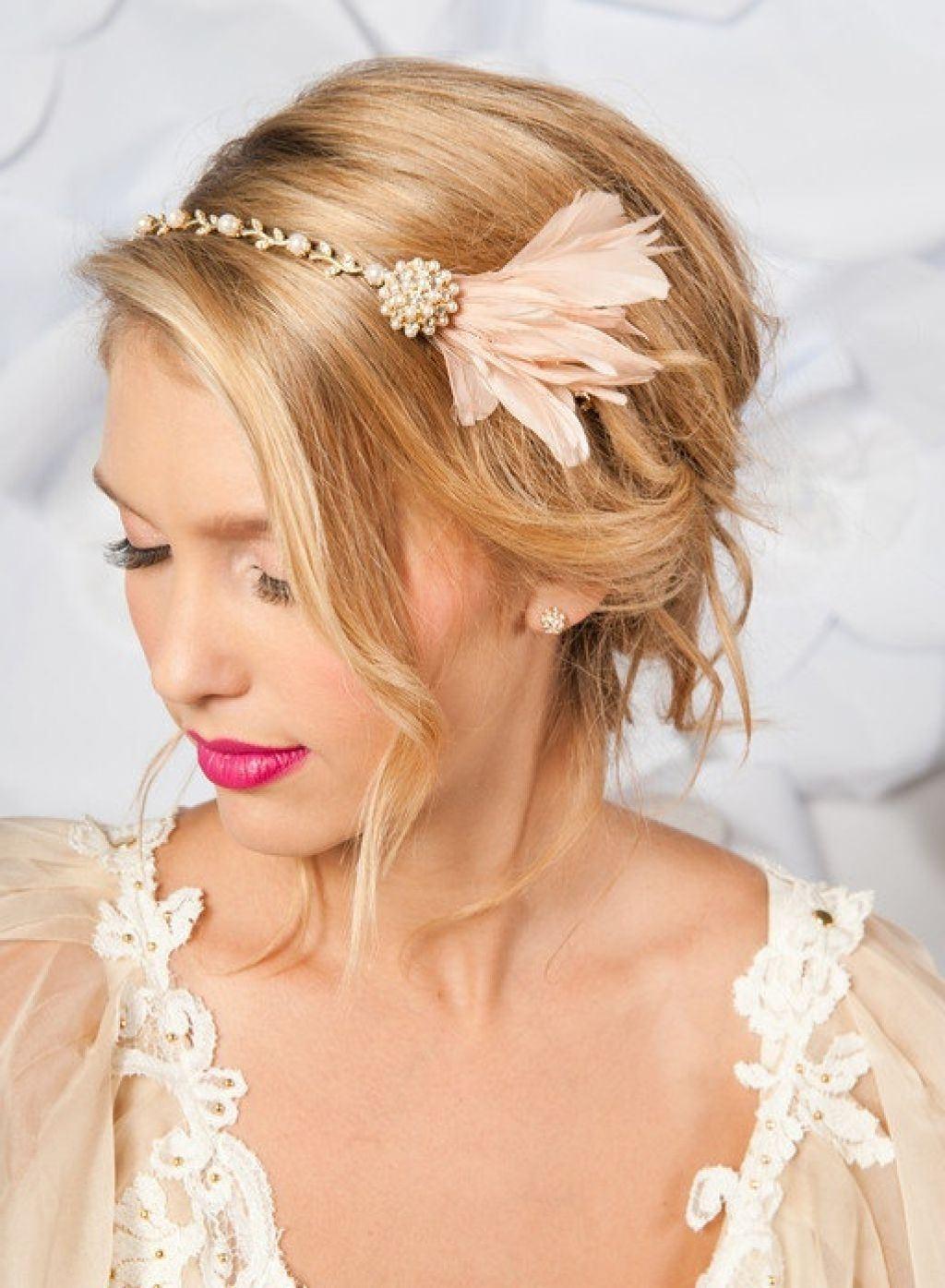 Свадебные украшения в волосы